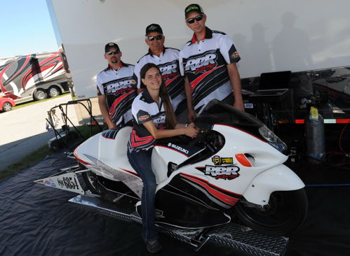 Canada's first ever NHRA Pro Stock Motorcycle team is taking shape!