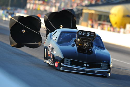 Points leader Brandon Snider qualified #1 and set low ET of the event