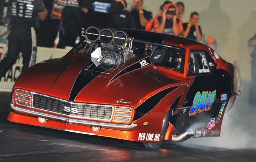 John Strickland qualified #1 in Pro Boost with a low ET of the meet effort - 3.815 secs