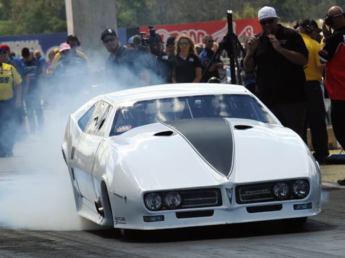 """""""Street Outlaws"""" TV reality star Justin Shearer entered at Indy but his best run of 6.361 secs was distant from qualifying."""