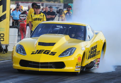 PM points leader Troy Coughlin Jr - qualified #1 with low ET of the event at 5.773 secs.