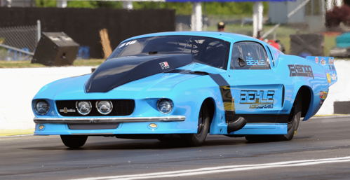 Fast racing class entity -Michael Biehle - set top speed in his Mustang