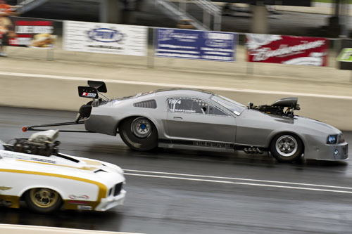 Al Martorino (from Cobourg ON) raced his ever-improving Mustang in PM - qualifying #12 in the 24-car field.