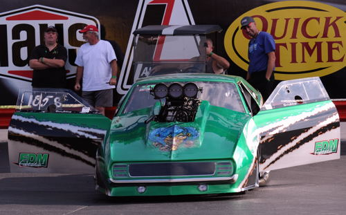Denis LaChance's gorgeous Pro Mod Camaro was just one of a number of quality cars from Quebec that towed in.