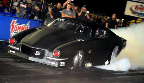 Driver Wes Goddard and car owner Fred DeJonge had a superb event - going to the PM final four and running career quick and fast times at 5.877 secs and 252.00 mph (top speed).