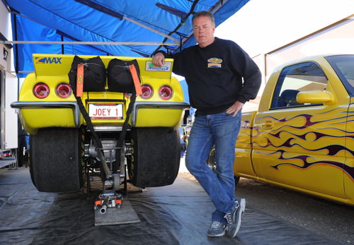 Western Canadian drag racing proponent Joey Stecker bought in his class act from Edmonton.