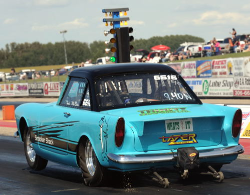 This very cool '61 Sunbeam was entered by Travis McBain from Saskatoon in Super Pro.