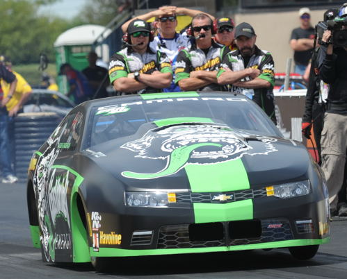 Alex Laughlin became NHRA's newest Pro Stock winner - scoring his first career title.