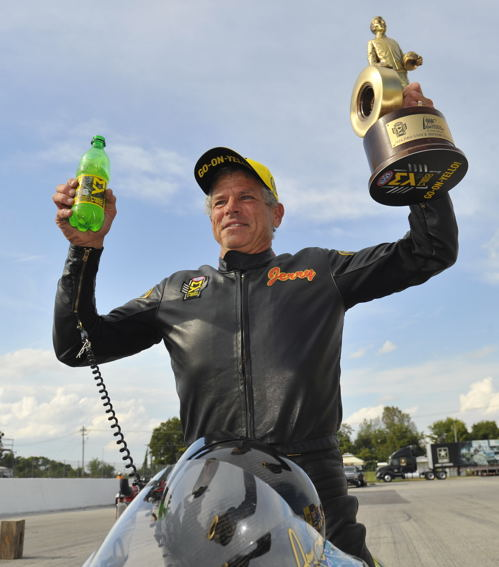 Jerry Savoie's win in Pro Stock Motorcycle was the 5th of his career
