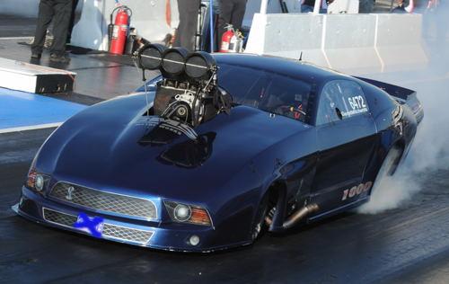 Washington state-based racer Garrett Richards won the WDRL's Unique Concrete Pro Mod points championship.