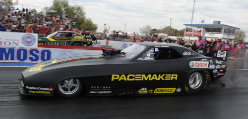 "Canada's Ryan Hodgson - the defending 2015 CHRR event champion - had a strong ""final four"" finish and set top speed of the meet overall at 261.42 mph."