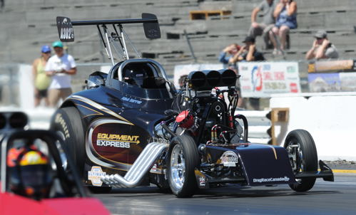 Kyle Harris drives the KHR 23T - one of the most popular entries within the Napa/Autopro Ultimate Showdown Series circuit.