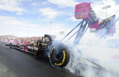 Clay Millican was the event's low qualifier at 3.689 secs