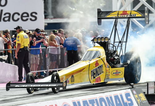 "Lady racer Leah Pritchett had another strong event showing - placing in the Tlp Fuel ""final four"""