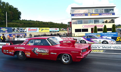 Craig Porter (far lane) won the S/G Final round.