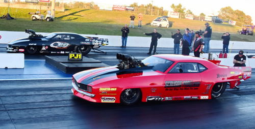 The PX final round featured newly crowned PDRA Champion Brandon Snider versus Jason Scruggs