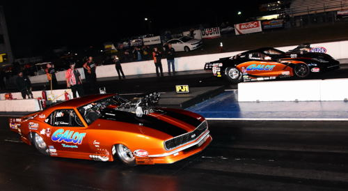 It was another all Galot Motorsports title bout in the PDRA Pro Boost category.
