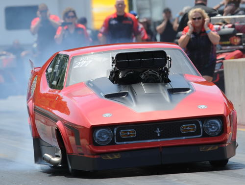 North Carolina's Terry Leggett rolled his '71 Mustang to the P/X title