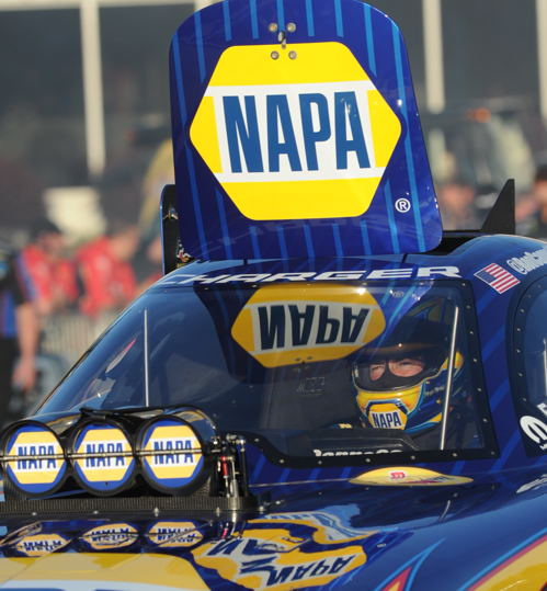 Ron Capps clinched the 2016 FC World Title after qualifying was completed on Saturday