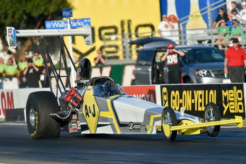"Edmonton's Don St. Arnaud once again provided a ""wow factor"". The injected dragster driver qualified #1 in TAD with a 5.200 and sped to the fastest mph ever in the class at a national record setting 285.83 mph. Don fell short of victory lane however - losing a narrow semi-final round decision."