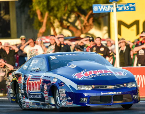 Jason Line collected 8 event wins during the season long Pro Stock chase.