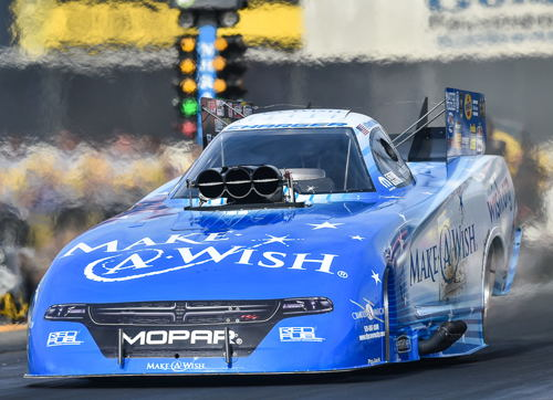 Tommy Johnson Jr ended his 2016 season on a high with the DSR Make-A-Wish Dodge