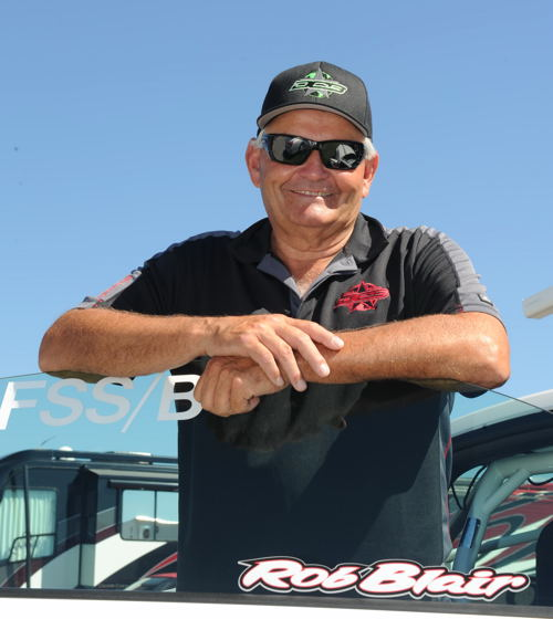 Alberta's Rob Blair is at the forefront of an aggressive and multi dimensional Canadian drag racing team.