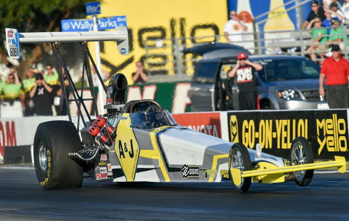 Big news from yesterday at the NHRA AAA Auto Club Finals includes Edmonton's Don St. Arnaud leading the pack after round #1 of TAD class qualifying. Don continues to own Pomona Raceway from a performance perspective -- and showed that again with a titanic top end speed of 285.83 mph - a new national record and simply put - the fastest speed in TAD class history. Wa Wa Wee Wa!