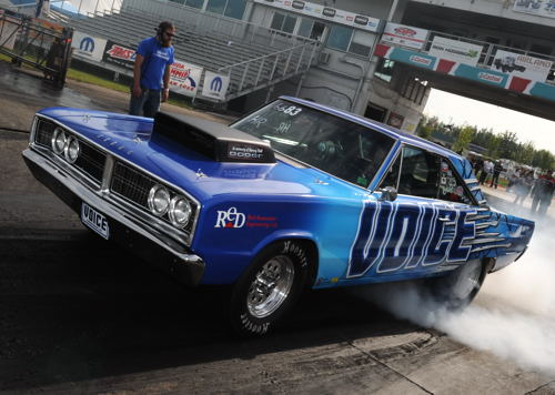 Long time Castrol Raceway campaigner James Paul just missed winning a IHRA World Championship title racing his super cool and unique '68 Dodge Coronet. Paul (who is from Sherwood Park AB) placed runner-up in the IHRA's season ending Summit Tournament of Champions held in Tennessee in late October. James just missed the Hot Rod 10.90The world's best sportsman racers took center stage at the Summit World Finals in Memphis, Tenn., Oct. 20 - 22 with hundreds of drivers representing 27 states and four Canadian provinces gathering at Memphis International Raceway in Tennessee to compete in the Summit Tournament of Champions and the Summit SuperSeries. Eleven champions were crowned during the weekend. The Summit Tournament of Champions was comprised of the top-three finishers from each IHRA division from the year-long Summit Pro-Am Tour program. Qualified drivers in their respective classes went head-to-head for the World Championship at the Summit World Finals.
