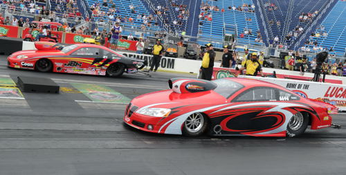 NHRA has had two TS World championship chases so far - Jeff Barker (far lane won in 2015) and now Mike Williams in 2016