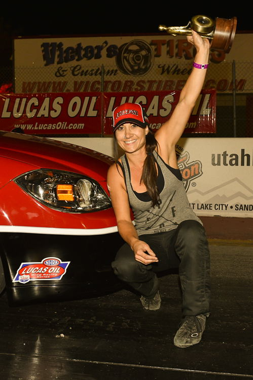 Another second generation racer to make her mark this season was Alberta's Caitlin Setters (who is daughter to Bryon Setters). Racing her GT/BA G5 - Caitlain placed a superb #2 in final Division 6 Super Stock points. 2016 saw her also earn her first win at the divisional level - scoring at Salt Lake City in September.