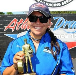 Mia Tedesco has made history as the very first female NHRA national champion for the 9.90 Super Gas class category