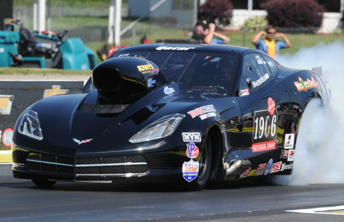 NHRA Pro mod class drag racing will be a featured part of MAVTV's coverage in 2017
